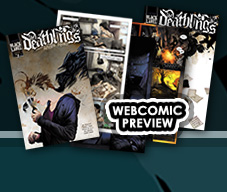 The Deathlings webcomic preview